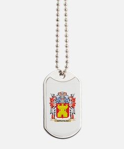 Gonzalez Coat of Arms - Family Crest Dog Tags