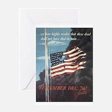 Remember December 7th Greeting Card