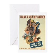 Plant A Victory Garden Greeting Card