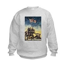 Iwo Jima Flag Raising Sweatshirt
