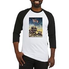 Iwo Jima Flag Raising Baseball Jersey