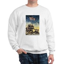 Iwo Jima Flag Raising Sweatshirt
