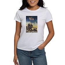Iwo Jima Flag Raising Tee