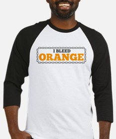 Bleed Orange Baseball Jersey