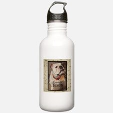 Beautiful bulldogs Water Bottle