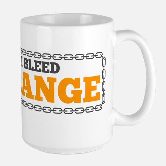 Bleed Orange Mugs