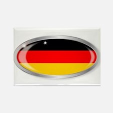German Flag Oval Button s Magnets