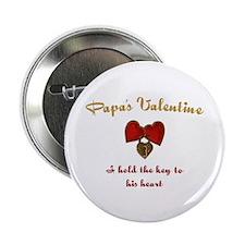 """Papa's Valentine 2.25"""" Button"""