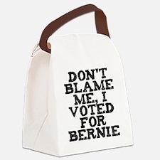 Unique Voting humor Canvas Lunch Bag