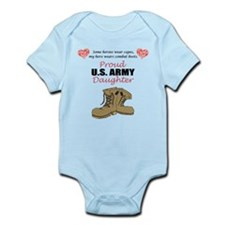 Proud US Army Daughter Onesie
