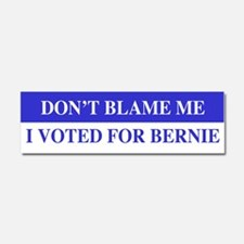 Voted For Bernie Car Magnet 10 x 3