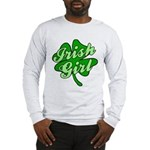4 Leaf Clover Irish Girl Long Sleeve T-Shirt