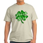 4 Leaf Clover Irish Girl Light T-Shirt
