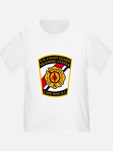 3-USCG-TRACEN-CpMy-Fire-Dept-Black-S T-Shirt