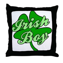 Irish Boy Throw Pillow