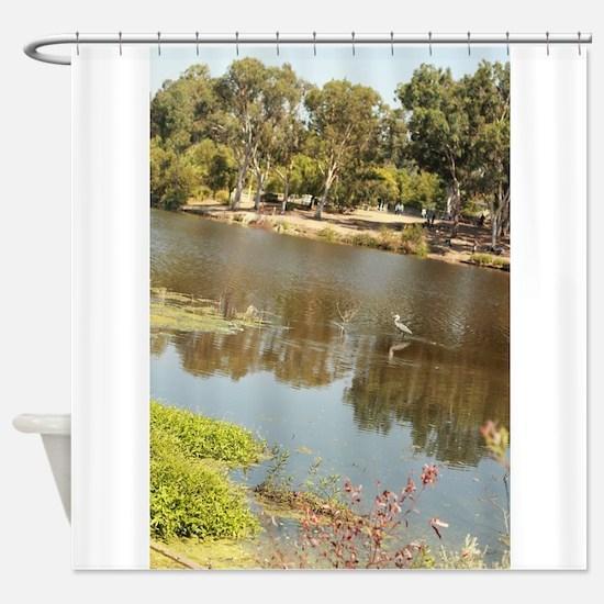 almaden lake park Shower Curtain