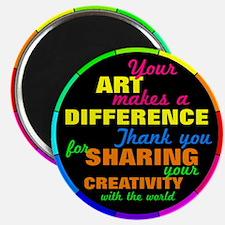 International Artists Day Magnets
