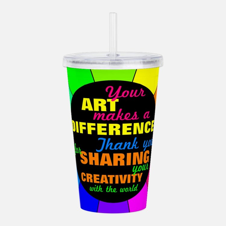 International Artists Day Acrylic Double-wall Tumb