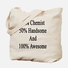 Cute Chemistry students Tote Bag