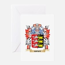 Grady Coat of Arms - Family Crest Greeting Cards