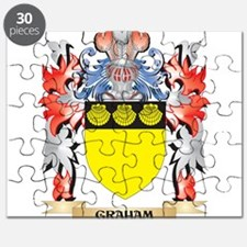 Graham Coat of Arms - Family Crest Puzzle