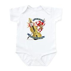 Carpe Bratschem (Seize the Viola) Infant Bodysuit