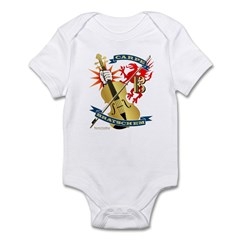 Carpe Bratschem (Seize the Viola) Infant Bodysuit