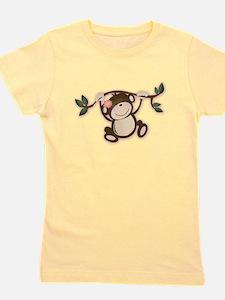 Unique Monkey Girl's Tee