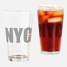 My NYC Drinking Glass
