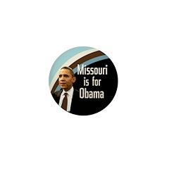 Missouri is for Obama Mini Button
