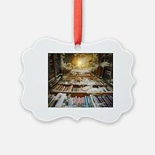 Cute Bookshelves Ornament