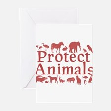 Protect Animals Greeting Cards