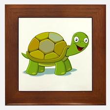 Turtle Framed Tile