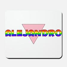 Alejandro Gay Pride (#002) Mousepad