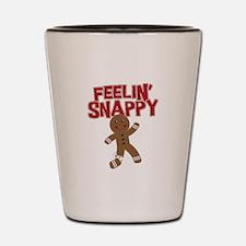 Feelin' Snappy Shot Glass