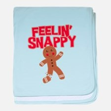 Feelin' Snappy baby blanket