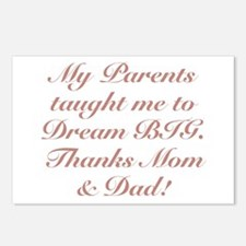Thanks Mom & Dad! Postcards (Package of 8)