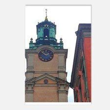 Timecheck in Stockholm Postcards (Package of 8)