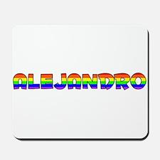 Alejandro Gay Pride (#004) Mousepad