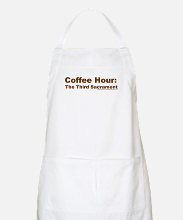 Coffee Hour BBQ Apron