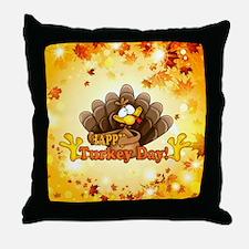 Unique Thanksgiving Throw Pillow