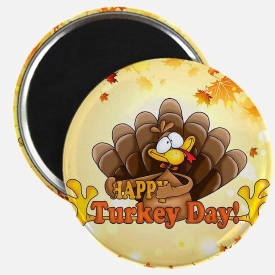 Happy Turkey Day Magnets