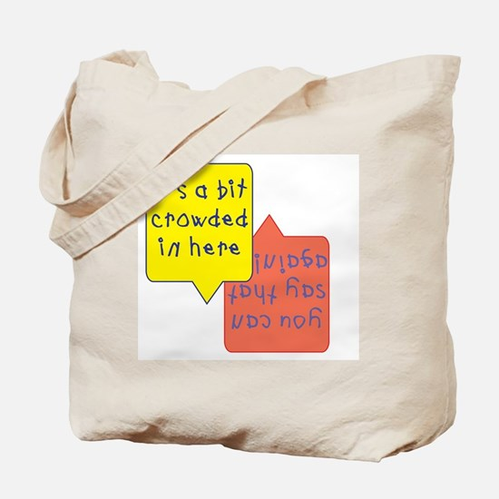crowded womb - twins Tote Bag