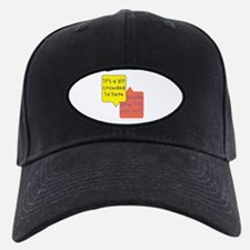 crowded womb - twins Baseball Hat