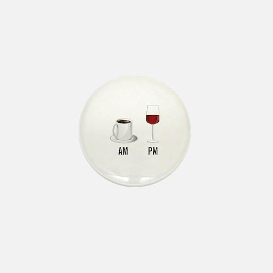 Unique Wine Mini Button