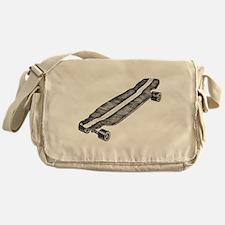 Skateboard Messenger Bag