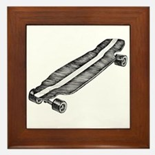 Skateboard Framed Tile