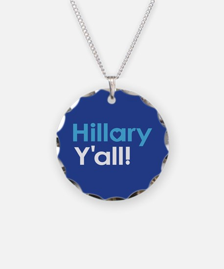 Hillary Y'all Necklace