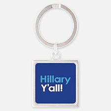 Hillary Y'all Keychains