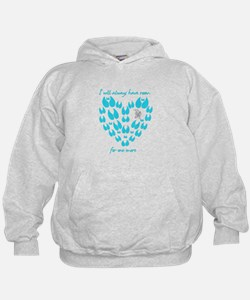 Cool I have a heart on Hoodie